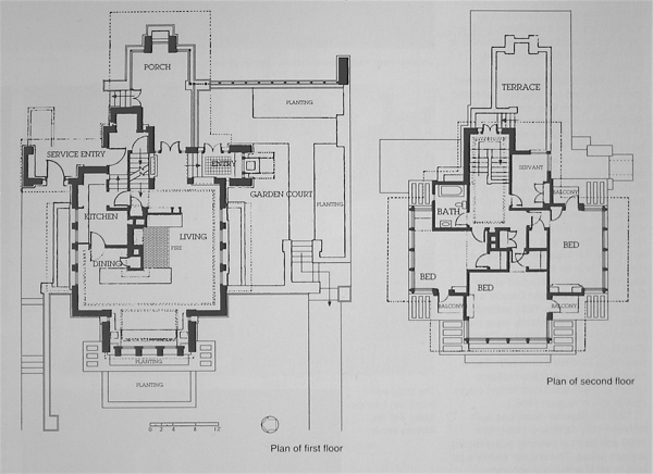 Wright chat view topic emil bach house for Bach floor plans