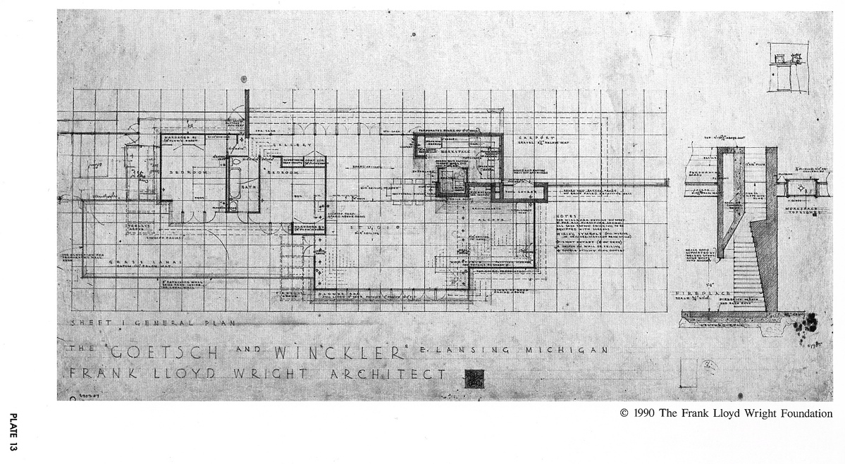 Wright Chat :: View topic - Goetsch-Winckler Usonian house