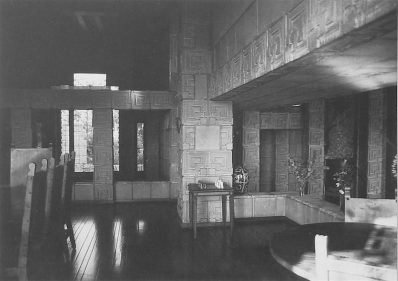 Wright chat view topic ennis house restoration for The dining room ennis