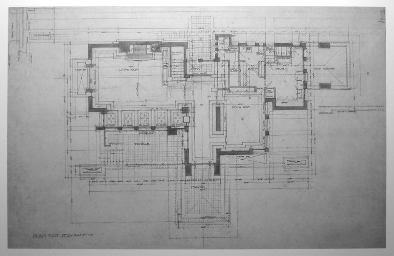 Wright chat view topic meyer may house for Meyer may house floor plan
