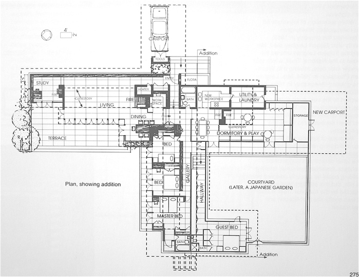 Frank Lloyd Wright Floor Plans Usonian