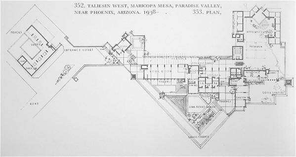 taliesin west floor plan images amp pictures becuo
