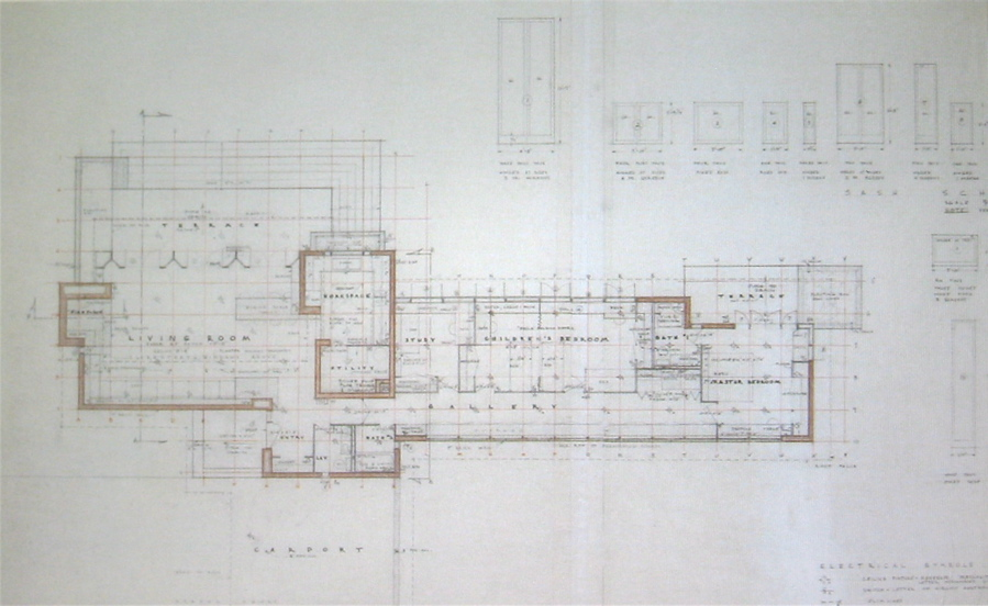 Usonian house plans House design ideas