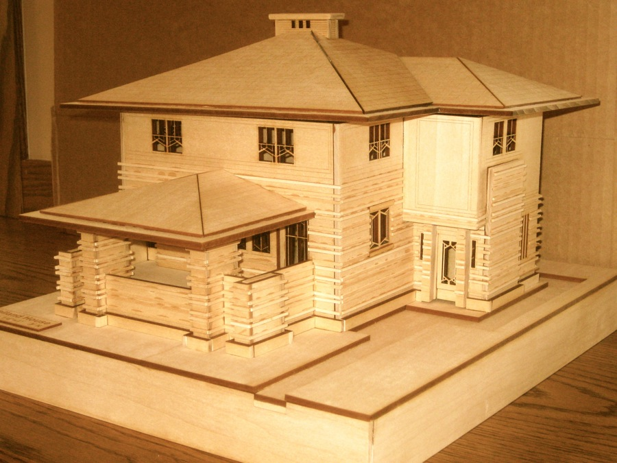 Building a model house for school project