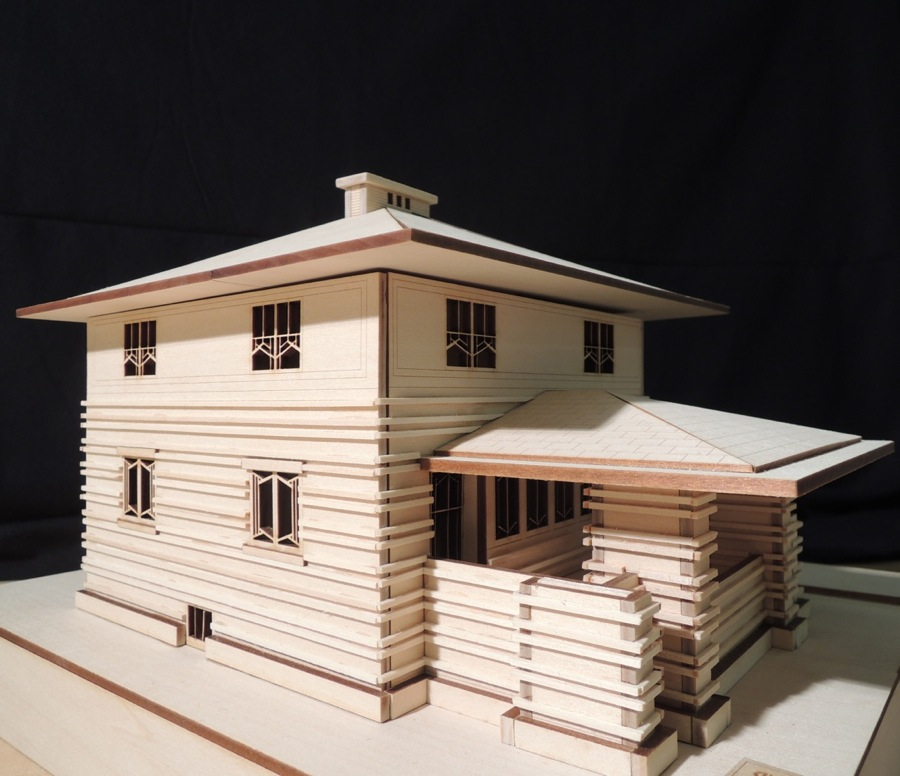 Model house for school project